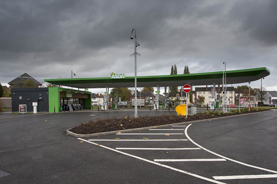 Forecourt construction williams southern limited - Asda stores ltd head office ...
